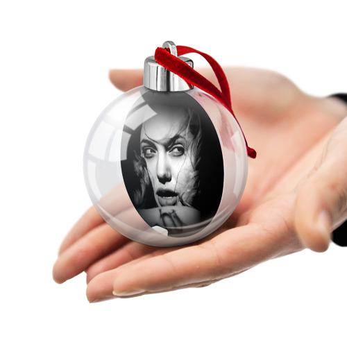 Ёлочный шар  Фото 02, Анжелина Джоли