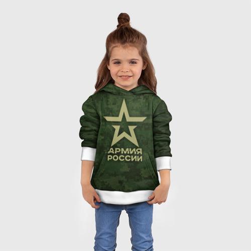 Детская толстовка 3D Армия России