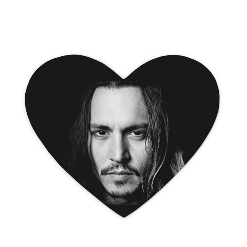 Коврик сердце  Фото 01, Джонни Депп