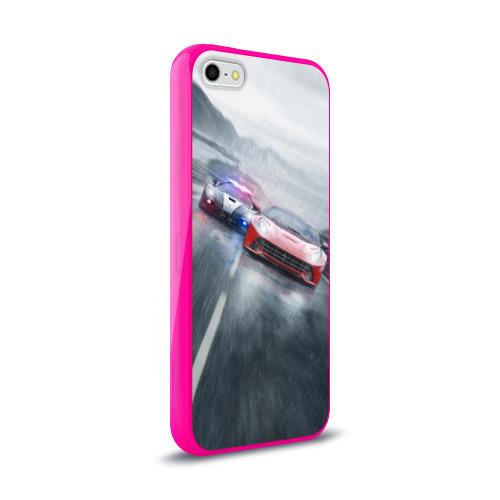 Чехол для Apple iPhone 5/5S силиконовый глянцевый NFS Фото 01