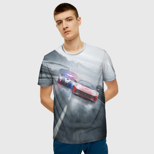 Мужская футболка 3D NFS Фото 01
