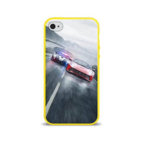 Чехол для Apple iPhone 4/4S силиконовый глянцевый NFS Фото 01