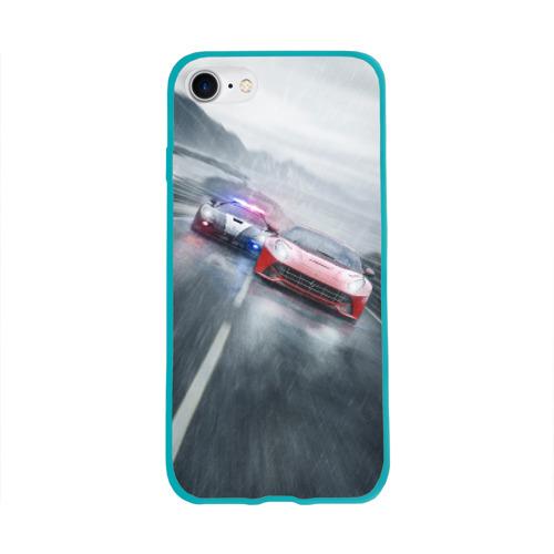 Чехол для Apple iPhone 8 силиконовый глянцевый NFS Фото 01