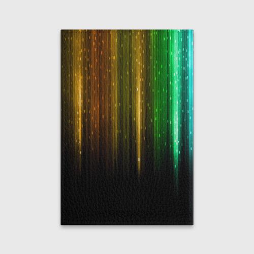 Обложка для паспорта матовая кожа  Фото 02, I LOVE MUSIC!