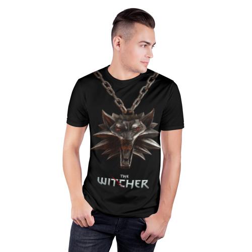 Мужская футболка 3D спортивная The Witcher Фото 01