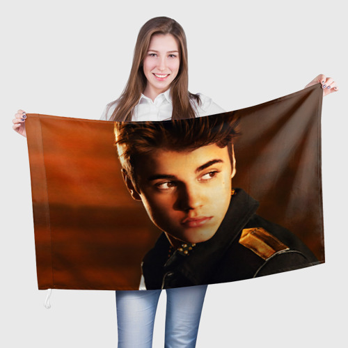 Флаг 3D  Фото 01, Джастин Бибер