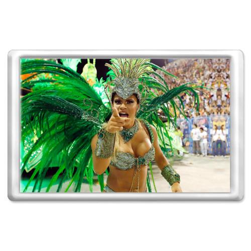 Магнит 45*70 Карнавал в Рио от Всемайки