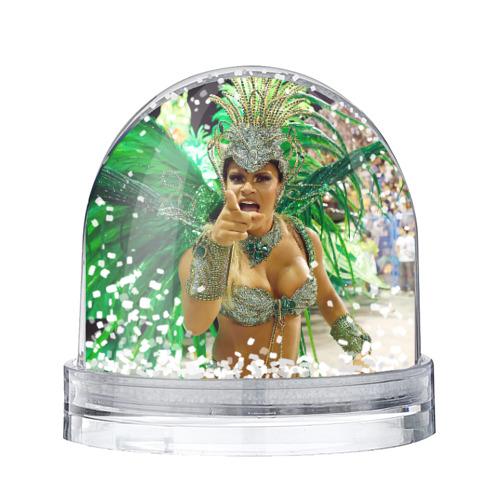 Водяной шар со снегом Карнавал в Рио