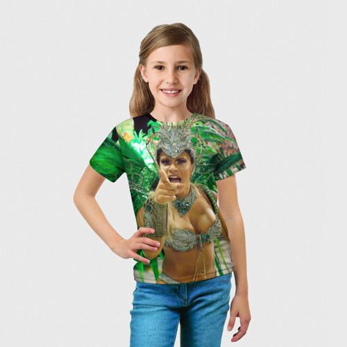 Детская футболка 3D  Фото 03, Карнавал в Рио