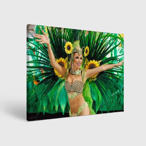 Холст прямоугольный  Фото 01, Карнавал в Рио