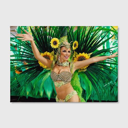 Холст прямоугольный  Фото 02, Карнавал в Рио