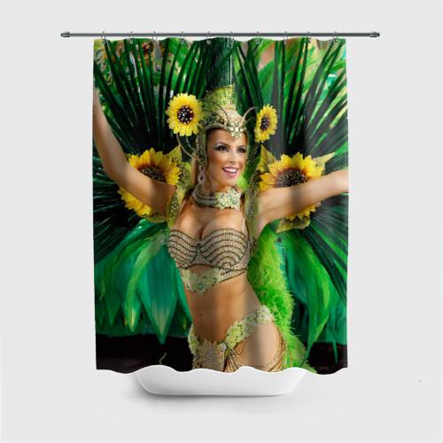 Штора для ванной Карнавал в Рио от Всемайки