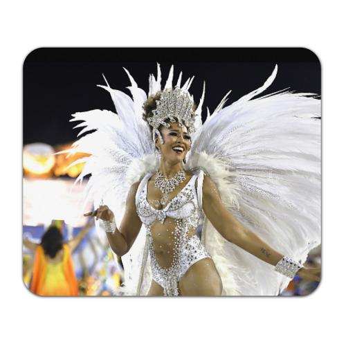 Коврик прямоугольный Карнавал в Рио от Всемайки