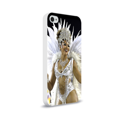 Чехол для Apple iPhone 4/4S soft-touch  Фото 02, Карнавал в Рио