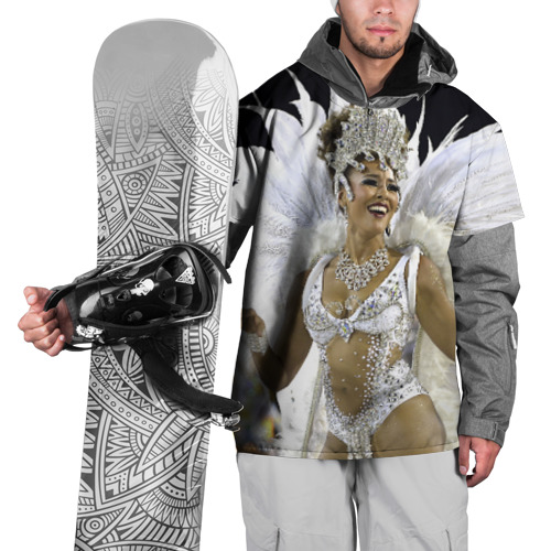 Накидка на куртку 3D  Фото 01, Карнавал в Рио