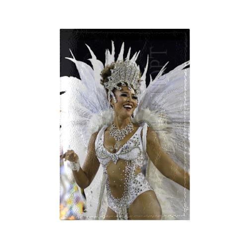 Обложка для паспорта глянцевая кожа Карнавал в Рио от Всемайки