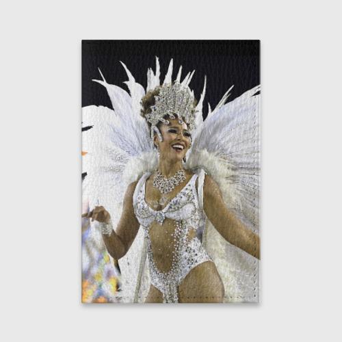 Обложка для паспорта матовая кожа Карнавал в Рио от Всемайки