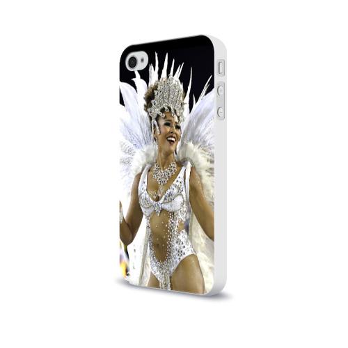Чехол для Apple iPhone 4/4S soft-touch  Фото 03, Карнавал в Рио