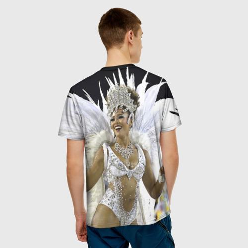 Мужская футболка 3D  Фото 02, Карнавал в Рио