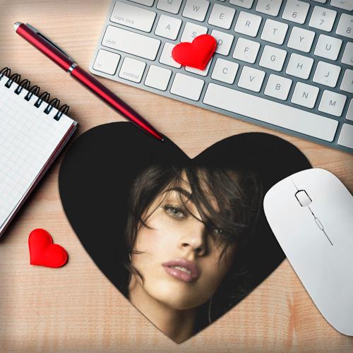 Коврик сердце  Фото 02, Меган Фокс