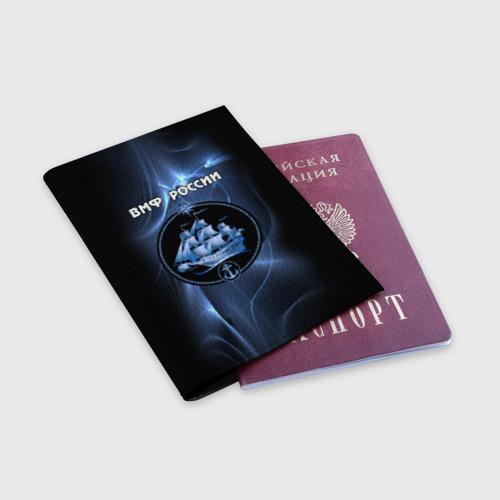 Обложка для паспорта матовая кожа  Фото 03, ВМФ России