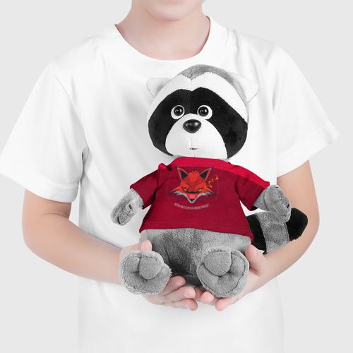 Енотик в футболке 3D Хитрая Лиса Фото 01