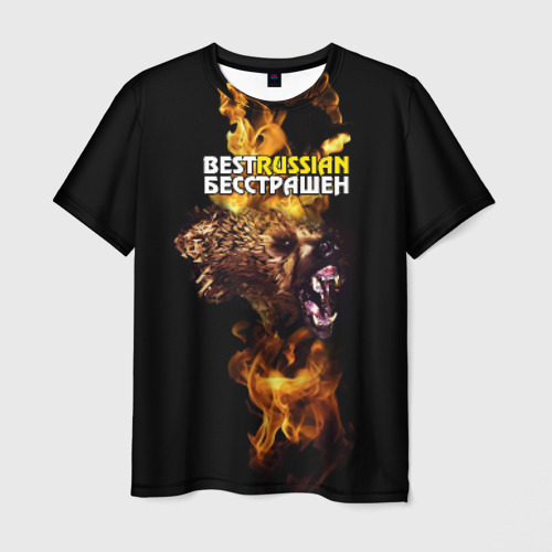 Мужская футболка 3D  Фото 03, BESTRUSSIAN - БЕССТРАШЕН