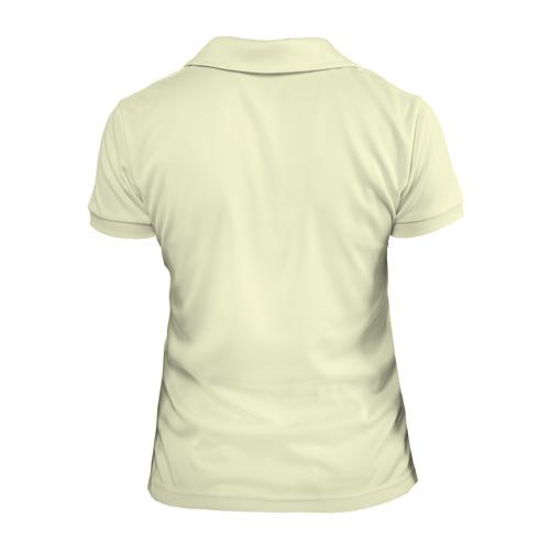 Женская рубашка поло 3D  Фото 02, Подснежники