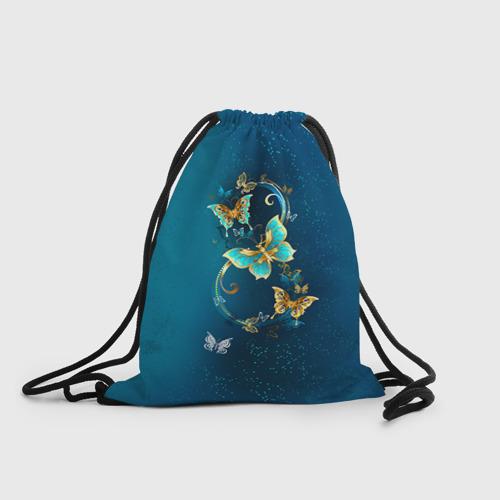 Рюкзак-мешок 3D  Фото 01, Бабочки