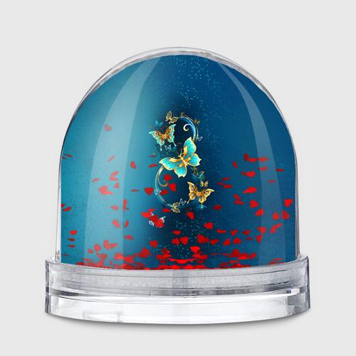 Водяной шар  Фото 01, Бабочки
