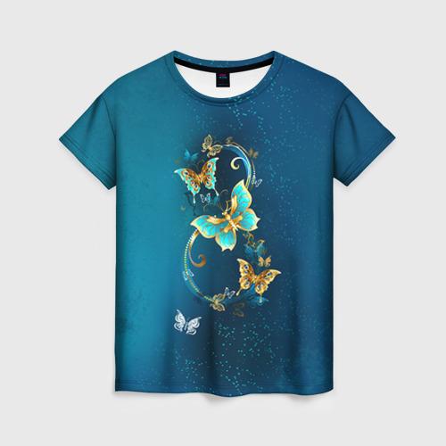 Женская футболка 3D Бабочки от Всемайки