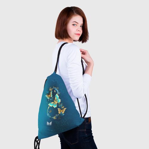 Рюкзак-мешок 3D  Фото 02, Бабочки