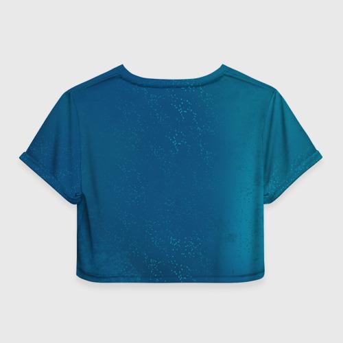 Женская футболка 3D укороченная  Фото 02, Бабочки