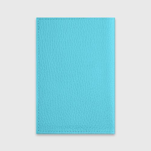 Обложка для паспорта матовая кожа  Фото 02, Восьмерка и колибри