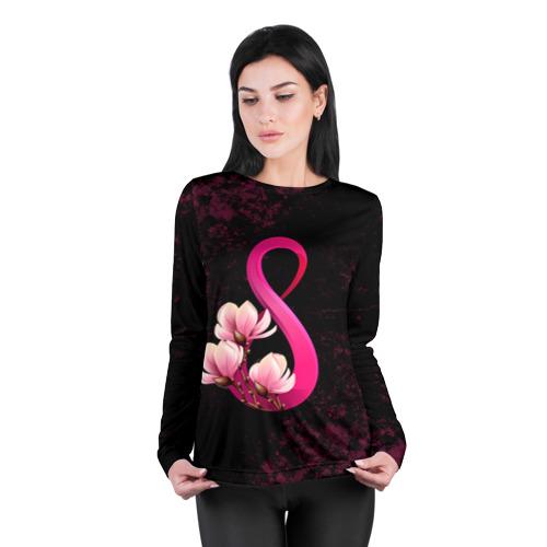 Женский лонгслив 3D для беременных  Фото 04, 8 марта