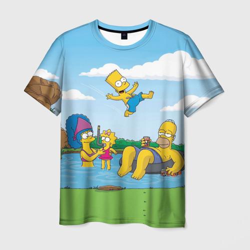 Мужская футболка 3D  Фото 03, The simpsons