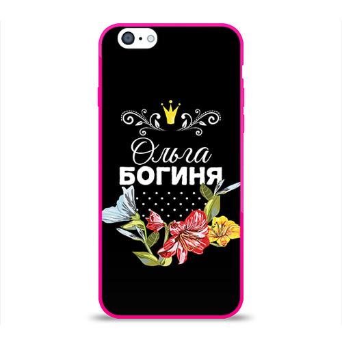 Чехол для Apple iPhone 6 силиконовый глянцевый  Фото 01, Богиня Ольга