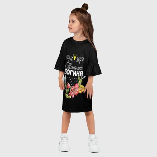 Детское платье 3D  Фото 03, Богиня Татьяна