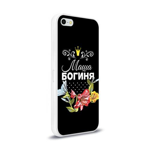 Чехол для iPhone 5/5S глянцевый Богиня Маша Фото 01