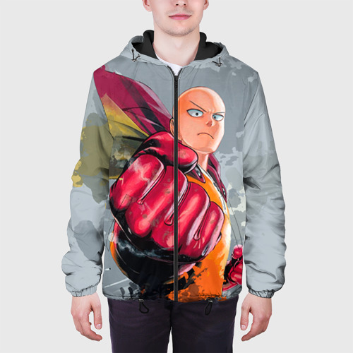 Мужская куртка 3D One-punch man Фото 01