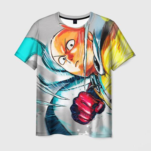 Мужская футболка 3D One punch man