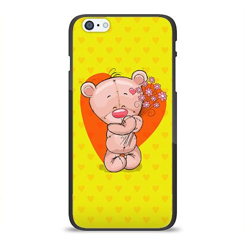 Мишка с цветочками