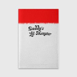 Обложка для паспорта матовая кожаDaddy's lil monster
