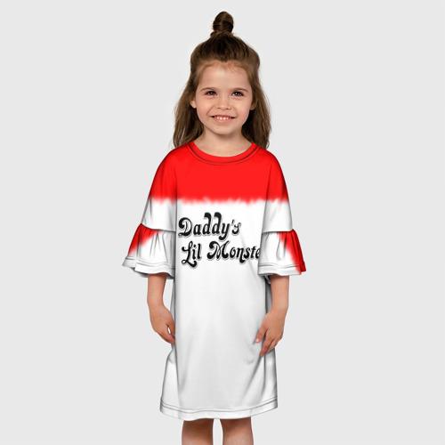 Детское платье 3D Daddy's lil monster