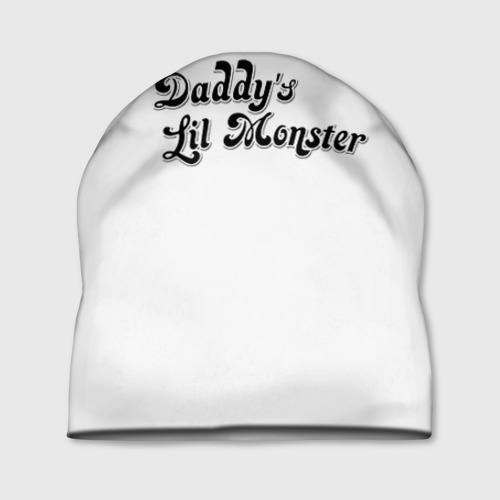 Шапка 3D Daddy's lil monster