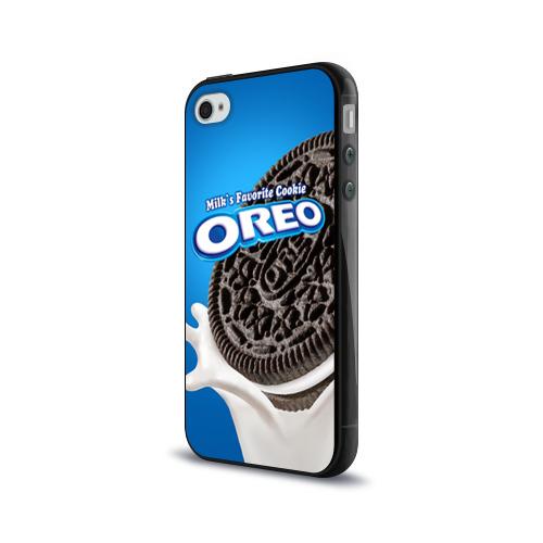 Чехол для Apple iPhone 4/4S силиконовый глянцевый  Фото 03, Oreo