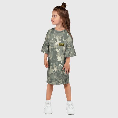 Детское платье 3D  Фото 03, AB IV +