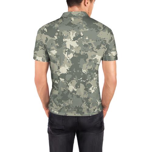 Мужская рубашка поло 3D  Фото 04, A II +