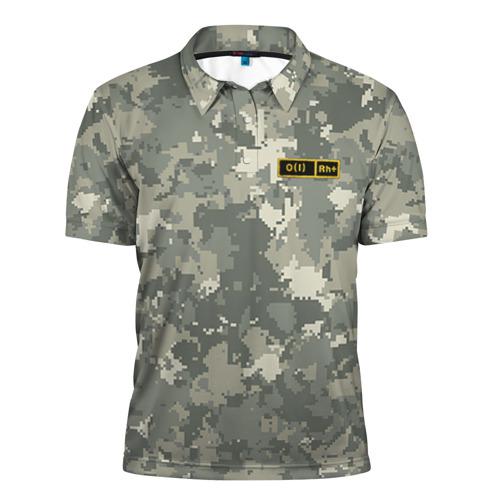 Мужская рубашка поло 3D  Фото 01, O I +