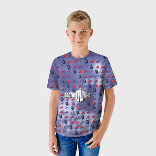 Детская футболка 3D Доктор Кто Фото 01